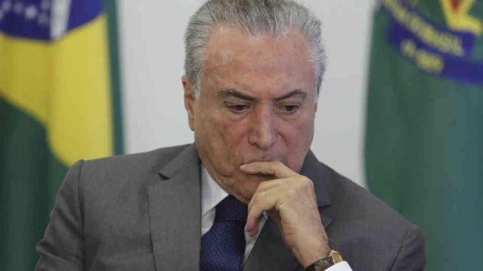 Michel Temer,proceso,corrupción,Brasil,