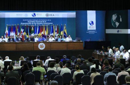 OEA-CIERRE DE ASAMBLEA