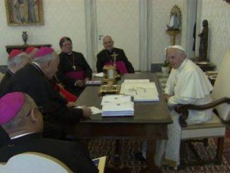 Conferencia Episcopal de Venezuela,Papa Francisco,