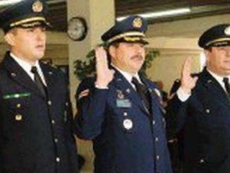 Pizarro, en su función policial cuando era como jefe