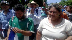 campesinos,marcha,Isla de Ometepe,