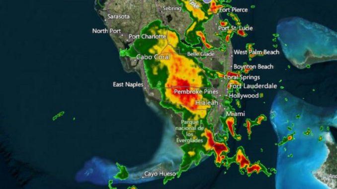inundaciones,Miami,Estados Unidos,