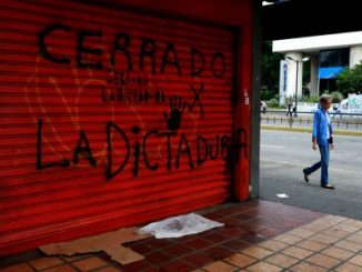 huelga general,Venezuela,