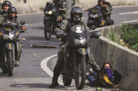 Venezuela-juicio a civiles