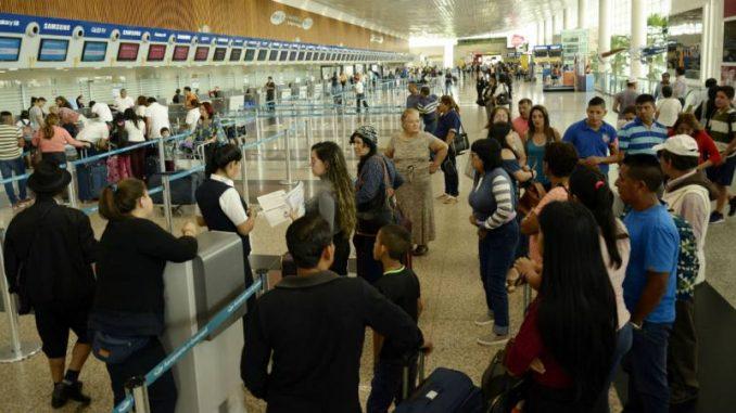 endurecimiento de la seguridad en vuelos procedentes de 105 países