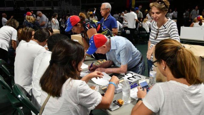 Venezolanos,consulta,EEUU,