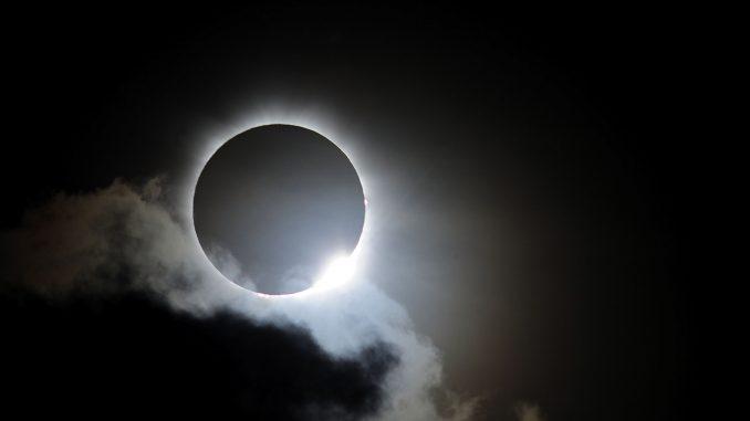 eclipse total de sol,la NASA,