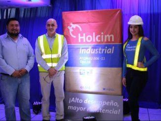 Foto/ Lanzamiento de cemento Holcim Industrial
