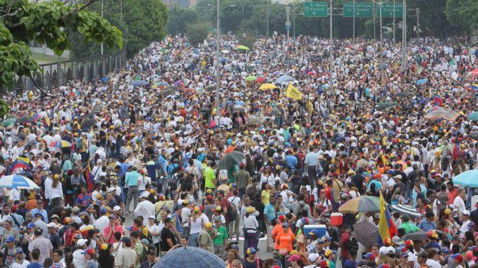marcha,oposición,Venezuela,