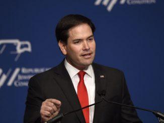 Senador estadounidense, Marco Rubio.