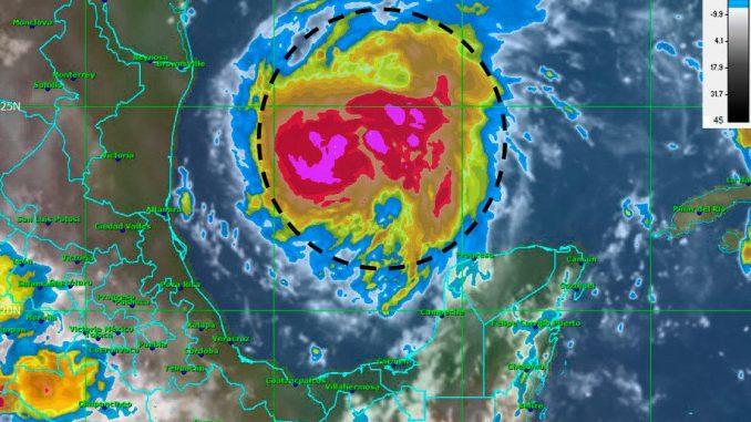 Tormenta Harvey,huracán,Golfo de México,