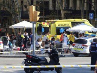 15 víctimas,atentado,Barcelona,España,