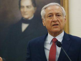 El ministro de Relaciones Exteriores chileno, Heraldo Muñoz