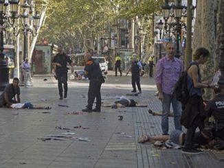 Atentado terrorista,Barcelona,