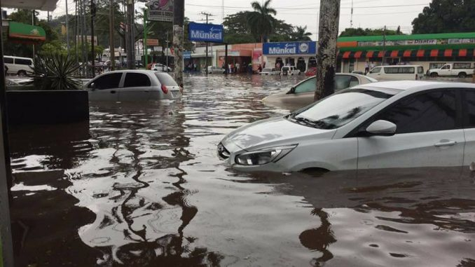 Managua,inundaciones,