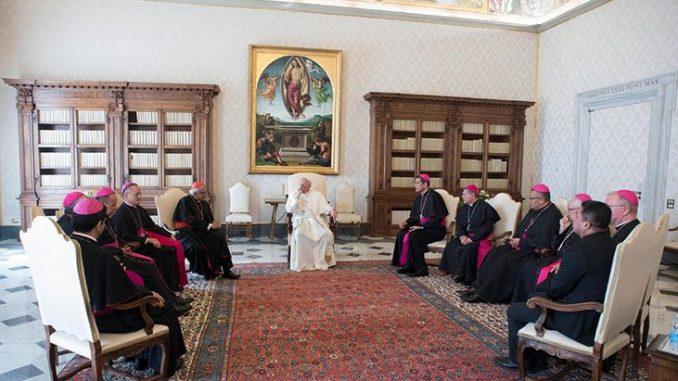 Obispos nicaragüensesEl Vaticano,,