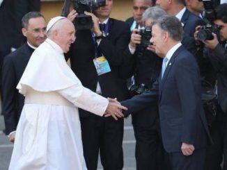 Papa Francisco,Colombia,