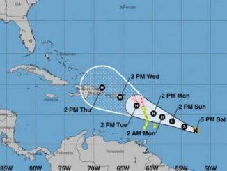 Islas del Caribe,tormenta María,