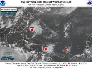 Huracán María,el Caribe,