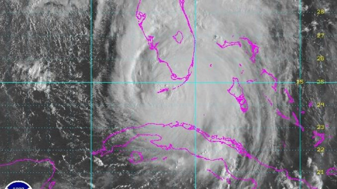 Huracán Irma,Cayos de la Florida,