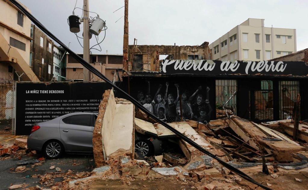 Hurac n mar a puerto rico quedar sin dinero radio - Puerto rico huracan maria ...