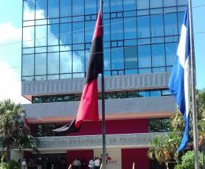 Edificio del Instituto Nicaragüense de Seguridad Social, INSS.