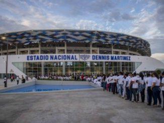 Estadio Nacional,Daniel Ortega,