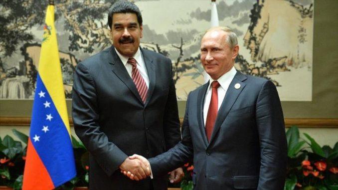 Vladimir Putin,Nicolas Maduro,