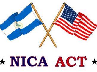 Nica Act,Estados Unidos,Nicaragua,