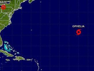 Ophelia,tormenta tropical,