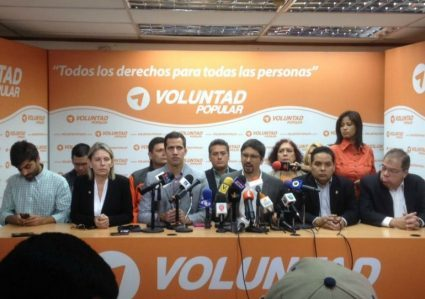 Partidos opositores de Venezuela
