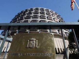 Tribunal Constitucional,España,