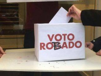 Voto Robado