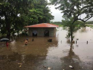 Tormenta tropical Nate,Nicaragua,