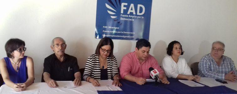 FAD culpa a Daniel Ortega Saavedra por violencia