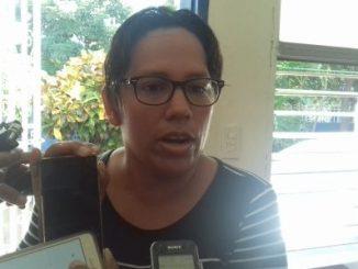 Jesica Ríos Britton, hermana de Halida Mercedes Britton, fiscal de Yatama embarazada presa en El Chipote