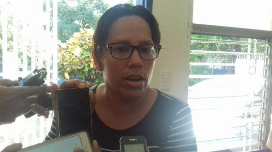 Muchacha embarazada presa en El Chipote