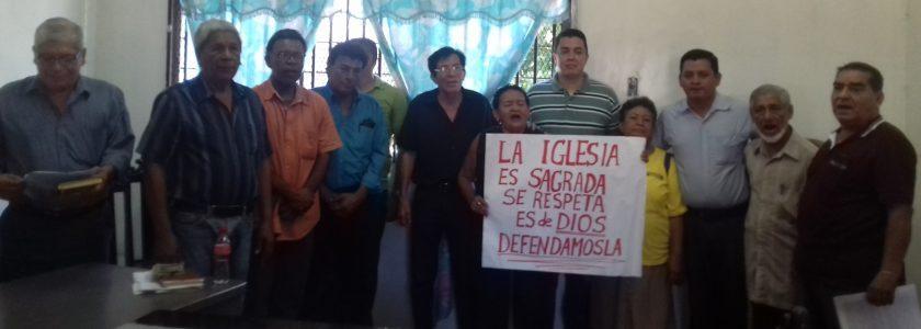 Ciudadanos laicos apoyan a Monseñor Silvio Báez
