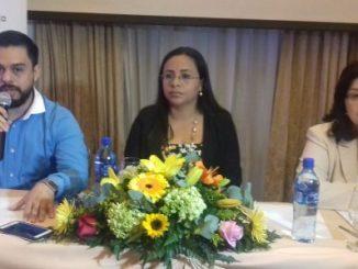 Directorio de RIGE, de izquierda a derecha en la imagen: Javier Mejía, Suyén Córdoba y Rosario Sotelo.