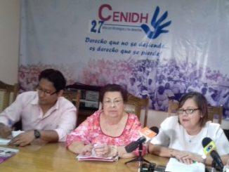 CENIDH aboga por la no violencia en las votaciones