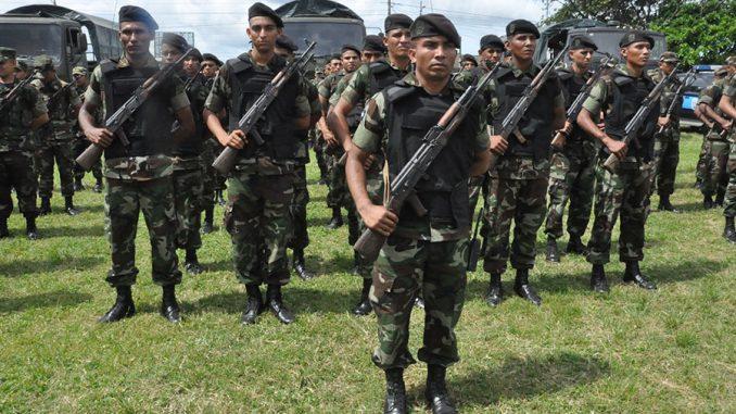 Durante un supuesto enfrentamiento con el Ejército de Nicaragua el pasado doce