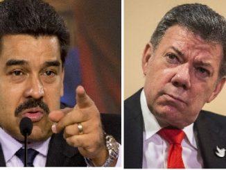 Nicolás Maduro,Juan Manuel Santos,