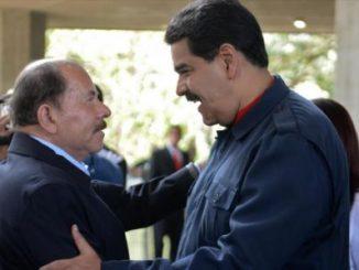 Daniel Ortega,Nicolás Maduro,Venezuela,