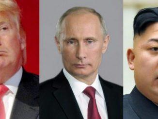 Rusia,Estados Unidos,Corea del Norte,