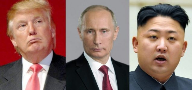 Trump-Putin-Jong
