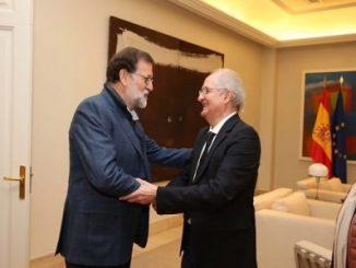 Mariano Rajoy,Antonio Ledezma,España,Venezuela,