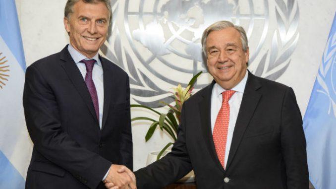 Mauricio Macri,ONU,Venezuela,
