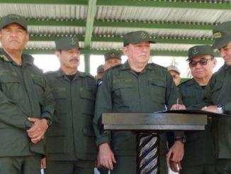 El jefe del Sexto Comando Militar Regional del Ejército de Nicaragua, coronel