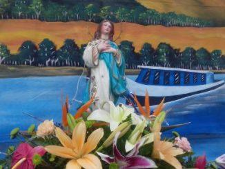 La Basílica Menor Nuestra Señora Concepción del Trono, en el Municipio de El Viejo