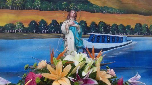 Católicos nicaragüenses celebran «La Purísima»